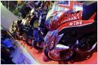 Ряд мотоциклов