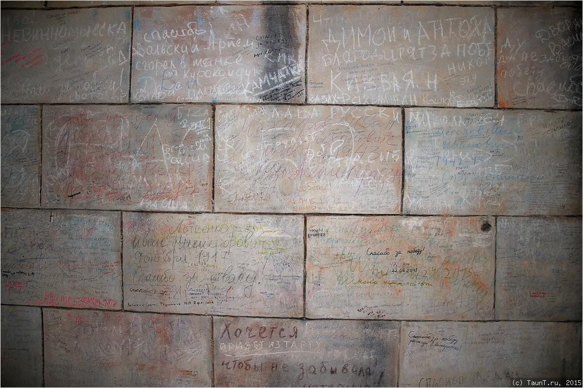 Надписи посетителей