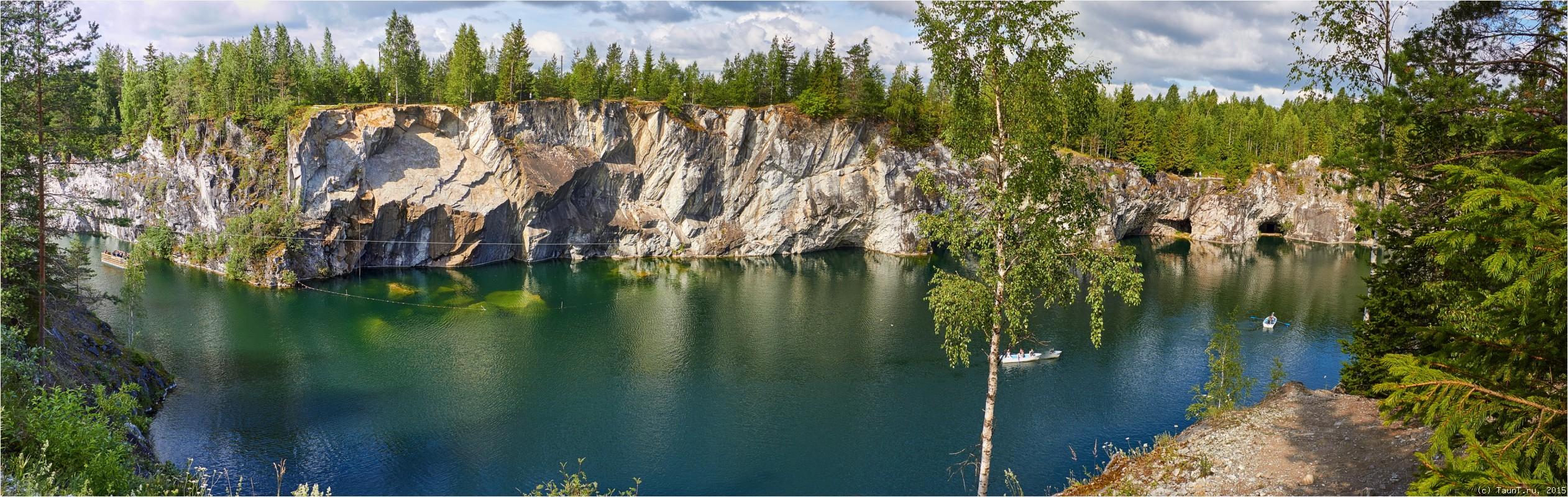 Панорама Рускеальского каньона